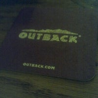 Photo taken at Outback Steakhouse by Nathan J. on 6/7/2012