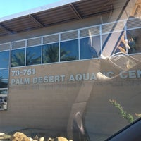 Photo taken at Palm Desert Aquatic Center by Beth Ann W. on 8/28/2012