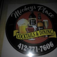 Photo taken at Mickey's Place by Tom G. on 5/18/2012