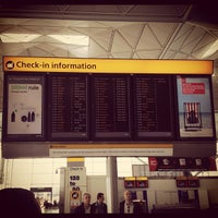 Photo taken at London Stansted Airport (STN) by Vanessa R. on 7/20/2012