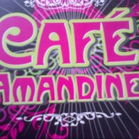 Photo taken at Café Amandine by Elena S. on 8/17/2012