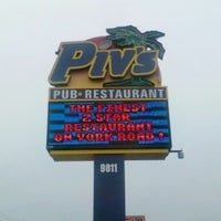Photo taken at Piv's Pub & Restaurant by Steven M. on 7/8/2012
