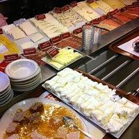 Photo taken at Namlı Cafe Şarküteri Restaurant by orcun c. on 3/3/2012