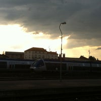 Photo taken at Gare SNCF de Roanne by Antoine R. on 5/28/2012