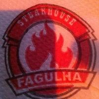 Photo taken at Fagulha Steakhouse by Renata M. on 8/10/2012