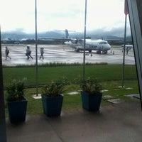 Photo taken at Aeroporto de Joinville / Lauro Carneiro de Loyola (JOI) by Anderson A. on 4/11/2012