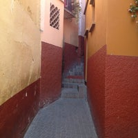Photo taken at Callejón del Beso by Isaac S. on 4/20/2012
