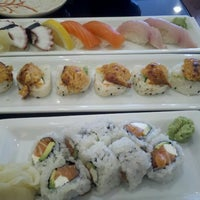 Photo taken at Hanami Sushi by Ross H. on 6/30/2012