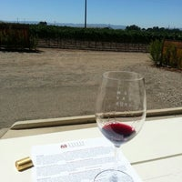 Photo taken at Andrew Murray Vineyards Tasting Room by Jessica on 9/2/2012