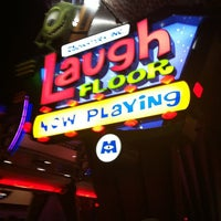 Photo taken at Monsters, Inc. Laugh Floor by Alisha D. on 5/16/2012