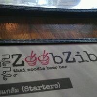 Photo taken at Zoob Zib Thai Noodle Bar by Z W. on 8/16/2012