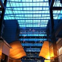 Photo taken at Hilton Frankfurt Airport by Tatiana K. on 8/4/2012