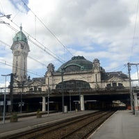 Photo taken at Gare SNCF de Limoges-Bénédictins by Benjamin on 6/26/2012