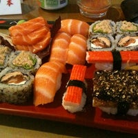 Photo taken at Nihon Sushi by Augusto L. on 4/27/2012