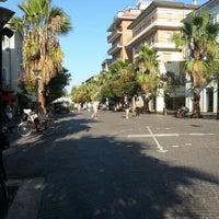 Photo taken at Corso di San Benedetto by Piedeamaro on 8/20/2012