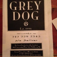 Photo taken at The Grey Dog by Lisa on 8/18/2012