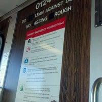 Photo taken at MBTA Malden Center Station by John W. on 6/17/2012