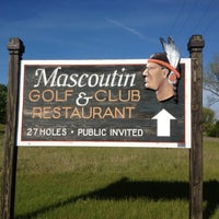 Photo taken at Mascoutin Golf Club by Brian W. on 5/2/2012