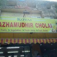 Photo taken at Kovai Pazhamudhir Nilayam by Jay C. on 6/24/2012