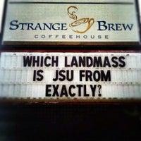Photo taken at Strange Brew Coffeehouse by StrangeBrewCoffeehouse C. on 8/29/2012