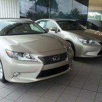Photo Taken At Charles Barker Lexus By Melissa D. On 8/26/2012 ...