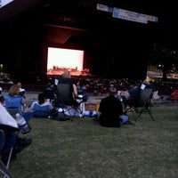 Photo taken at Miller Outdoor Theatre by Temujin S. on 4/28/2012