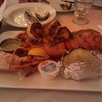 Photo taken at Mateus' Restaurant & Bar by Marina on 8/19/2012