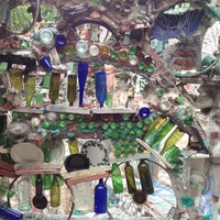 Photo taken at Philadelphia's Magic Gardens by Christine T. on 4/28/2012
