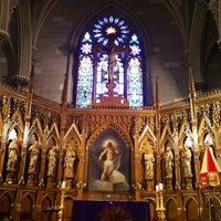 Photo taken at St. Patrick's Old Cathedral by Tim P. on 3/5/2012