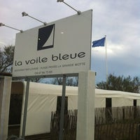 Photo taken at La Voile Bleue by Marco F. on 4/19/2012