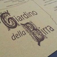 Photo taken at Giardino della Birra by Andrea V. on 6/3/2012