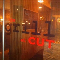Photo taken at Cut Steakhouse & Urban Grill by Gayle W. on 8/18/2012