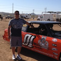 Photo taken at Canyon Speedway by Mark A. on 5/27/2012
