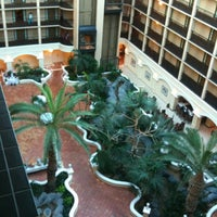 Photo taken at Sheraton Suites Tampa Airport Westshore by Andrew R. on 5/6/2012
