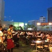 Photo taken at 横浜モアーズ屋上 by mocsnow on 9/8/2012