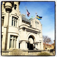Photo taken at American Swedish Institute by Christopher P. on 3/29/2012