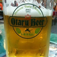 Photo taken at Otaru Beer Garden by Dallas G. on 8/9/2012