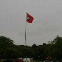Photo taken at Centro de Treinamento do Caju by Felipe M. on 2/13/2012