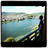 Photo taken at Inuyama Castle by Katz U. on 6/10/2012