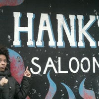 Photo taken at Hank's Saloon by Nihara N. on 4/28/2012