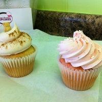 Photo taken at Sweet Carolina Cupcakes by Dana on 8/10/2012