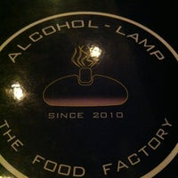 Photo taken at ALCOHOL-LAMP by HR C. on 6/1/2012