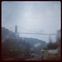 Photo taken at Clifton Suspension Bridge by Paul W. on 8/6/2012