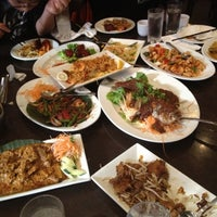 Photo taken at Penang Malaysian Cuisine Restaurant by Jessica L. on 5/3/2012