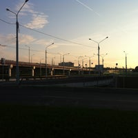 Photo taken at Трёхуровневая развязка Жукова—Дзержинского by Max on 8/19/2012