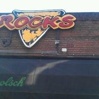 Photo taken at Café Rocks by Erik Z. on 7/8/2012