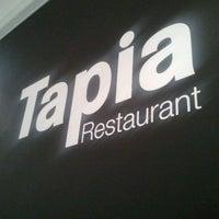 Photo taken at Tapia by Sebastien L. on 2/17/2012