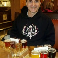 Photo taken at Deschutes Brewery Bend Public House by Cindy S. on 2/28/2012