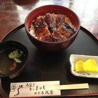 Photo taken at うを芳 by yonaki_ya on 8/26/2012