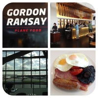 Photo taken at Gordon Ramsay Plane Food by Oliver R. on 6/17/2012